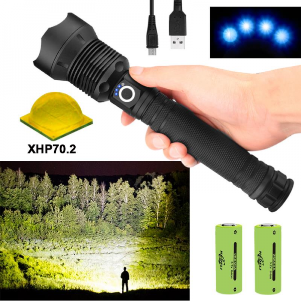Super Bright LED Flashlight 1