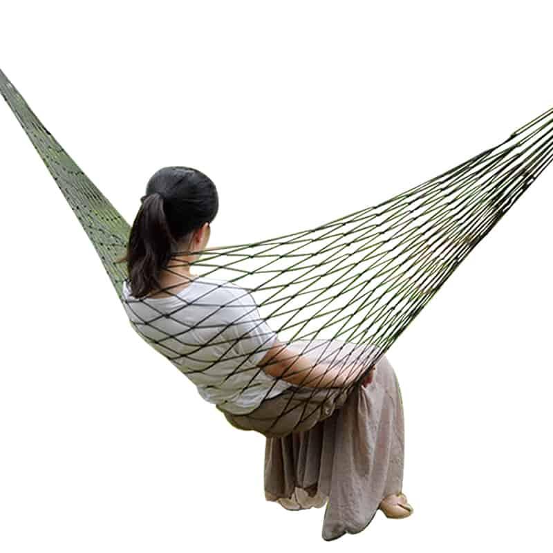 Portable Garden Nylon Hammock 1